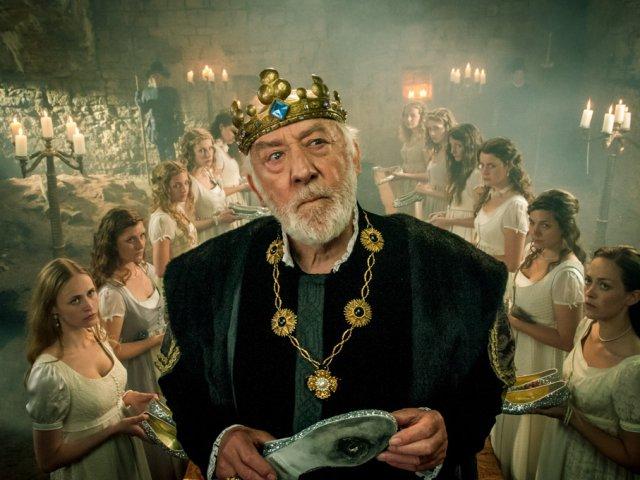 """Dieter Hallervorden: """"Die zertanzten Schuhe""""; Burg Querfurt 2011"""
