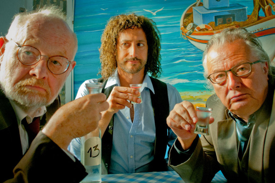 Jürgen Flimm, Michael Ostrowski, Frank Castorf